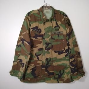 US Army Airborne Military Issued Combat Coat Sz. M